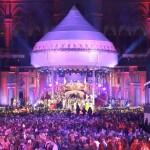 Das Wiener Rathaus im orientalischen Kleid